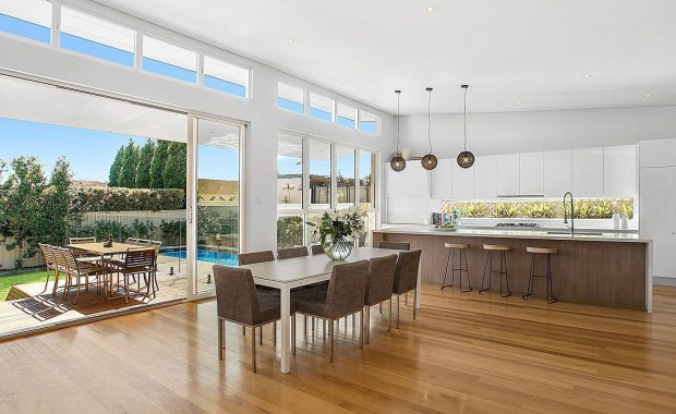 willoughby architects howell avenue project dining room