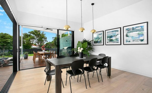 willoughby architects high street project dining area