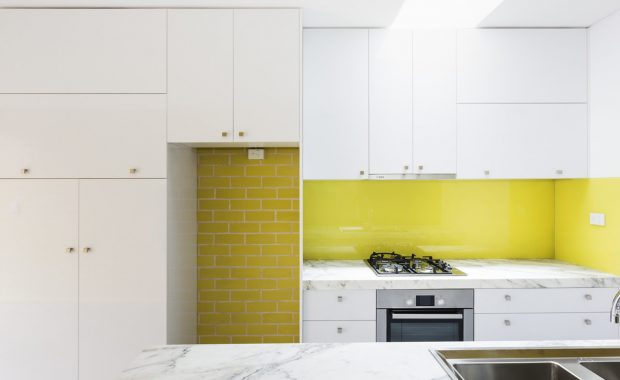 willoughby architects surry hills project kitchen