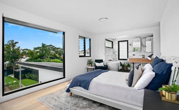 willoughby architects high street project master bedroom renovation